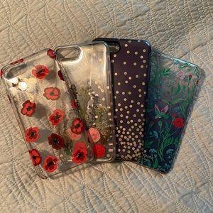 Bundle of 4 iPhone 8 Plus cases